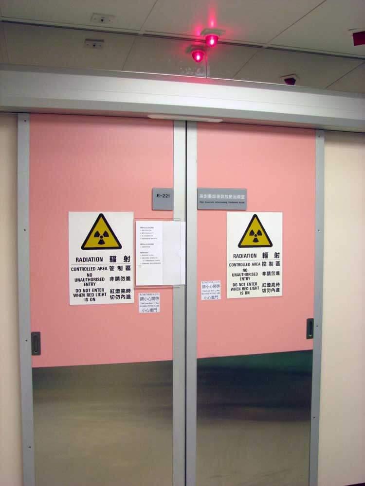 高劑量率治療室